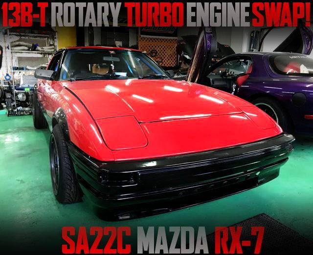 13B-T ROTARY TURBO SWAP SA22C RX7