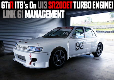 GTIR ITB ON SR20DET ENGINE NISSAN SENTRA