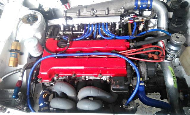 GTIR ITB ON SR20DET TURBO ENGINE