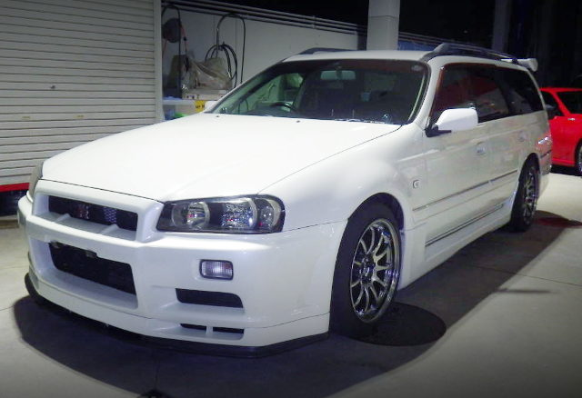 FRONT EXTERIOR R34GTR FRONT END STAGEA 260RS