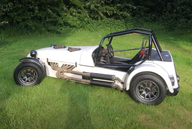 SIDE EXTERIOR CATERHAM WHITE