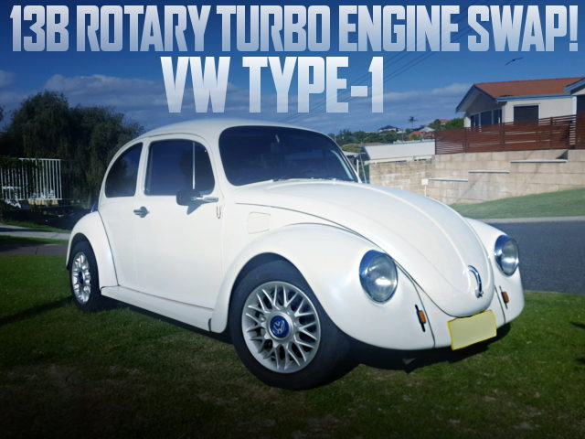 13B ROTARY TURBO ENGINE VW TYPE-1