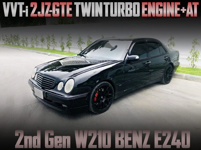 2JZ TWINTURBO WITH AT W210 BENZ E240