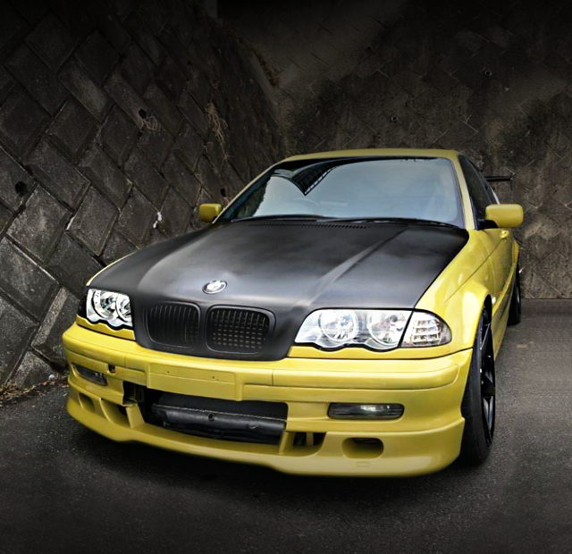 FRONT FACE E46 BMW 325i YELLOW