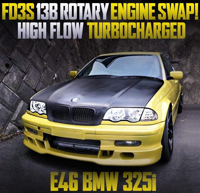 13B ROTARY ENGINE SWAP E46 BMW 325i