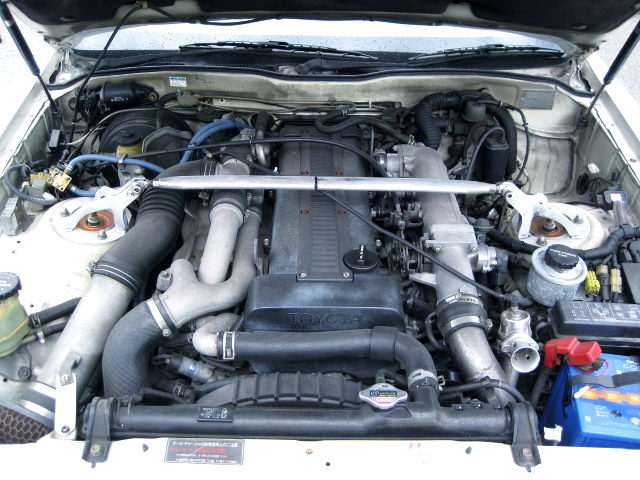 1JZ 2500cc TWINTURBO ENGINE