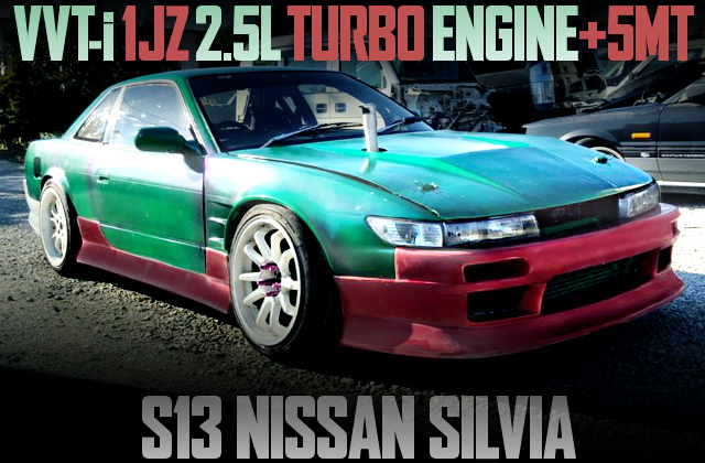1JZ VVTi TURBO SWAP S13 SILVIA