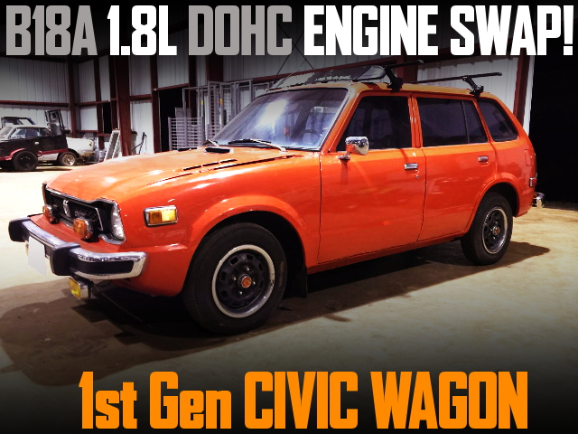 B18A DOHC ENGINE SWAP 1st Gen CIVIC WAGON