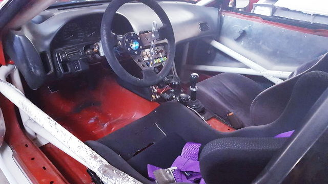 S13 240SX COUPE INTERIOR