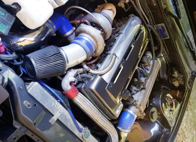 2JZ-GTE ENGINE WITH TO4Z TURBO