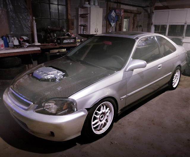 FRONT EXTERIOR 2nd Gen CIVIC COUPE