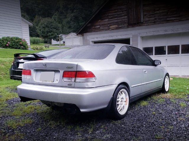 REAR EXTERIOR 2nd Gen CIVIC COUPE