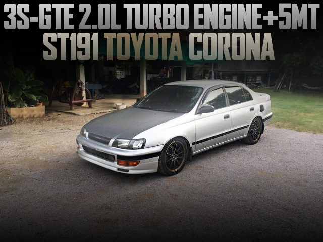 3S-GTE TURBO ENGINE WITH 5MT ST191 CORONA