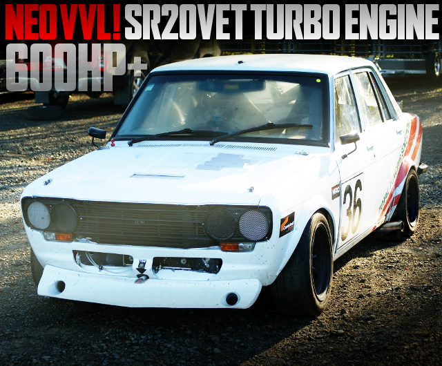 SR20VET TURBO ENGINE 510 DATSUN