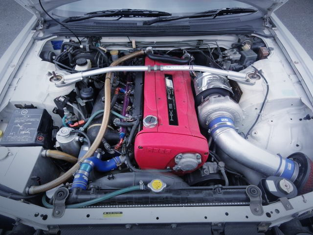 RB26 ENGINE WITH HKS T51R SINGLE TURBO