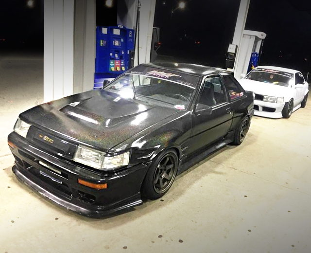 FRONT EXTERIOR AE86 COROLLA GT-S