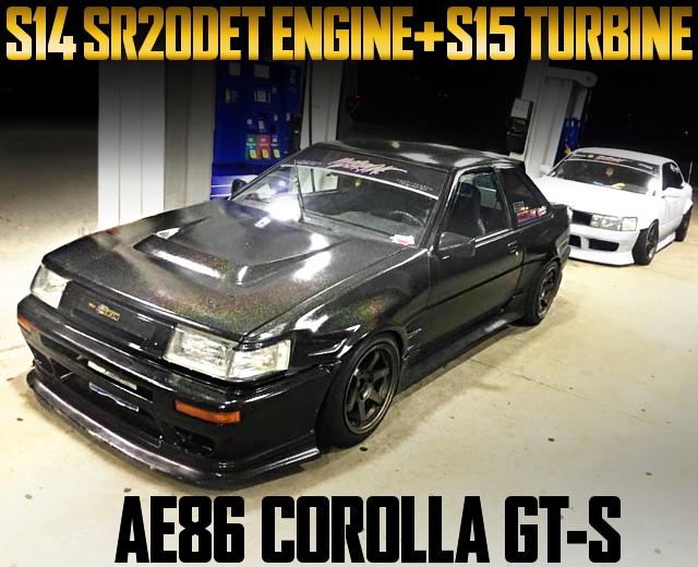 SR20DET ENGINE AE86 COROLLA GT-S