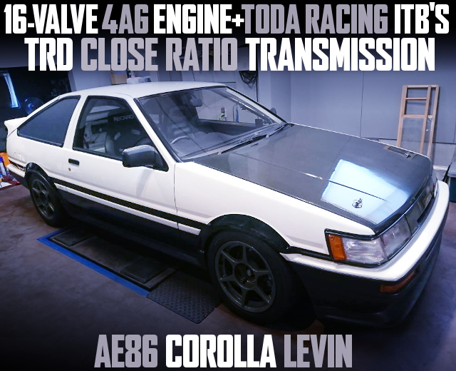 4AG WITH TODA ITB AE86 LEVIN