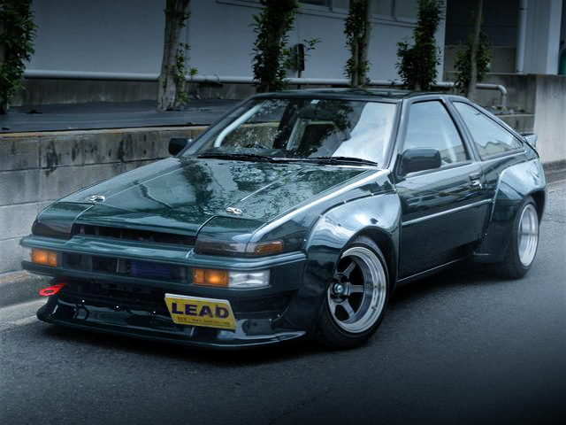 FRONT EXTERIOR N2 WIDE AE86 TRUENO