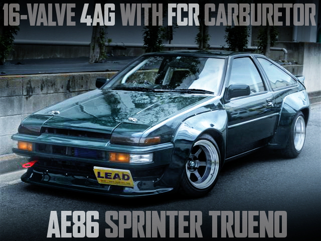 4AG FCR CARB ENGINE AE86 TRUENO