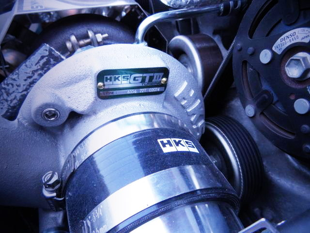 HKS GTIII TURBOCHARGER