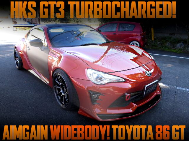 HKS GT3 TURBOCHARGED TOYOTA 86 GT