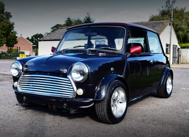 FRONT FACE ROVER MINI COOPER