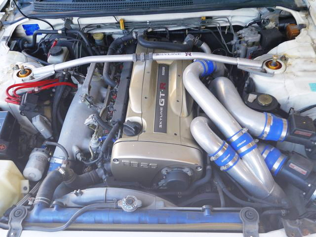 NUR RB26 TWINTURBO ENGINE