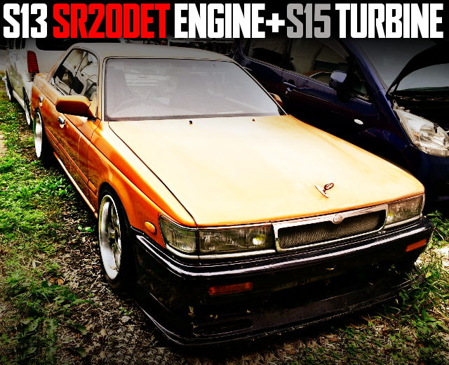 SR20DET WITH S15 TURBO OF C33 LAUREL