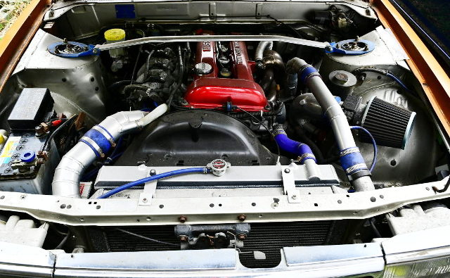 S13 RED TOP SR20DET TURBO ENGINE