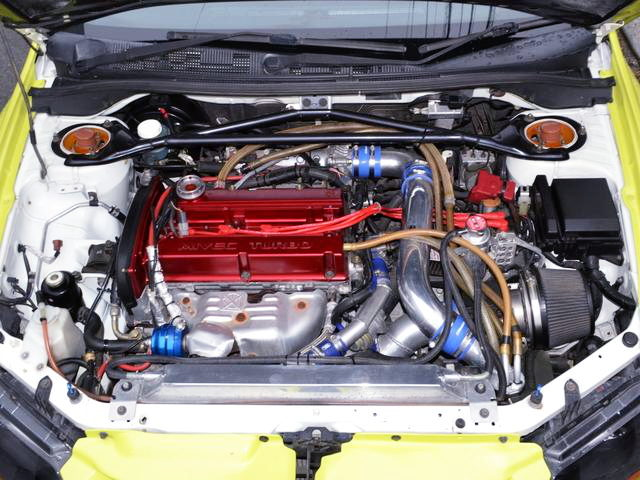 MIVEC 4G63 TURBO ENGINE