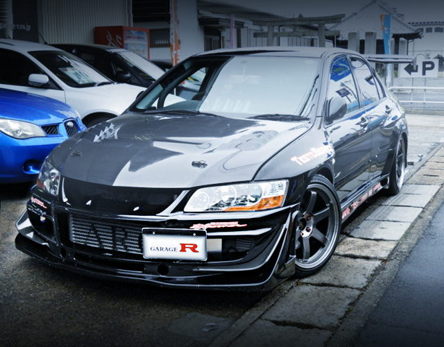 FRONT FACE CT9A EVO9 GT
