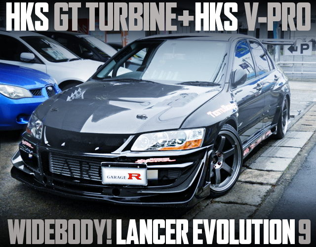 HKS GT TURBINE WIDEBODY EVO9GT