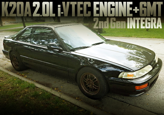 K20A iVTEC WITH 6MT 2nd Gen INTEGRA
