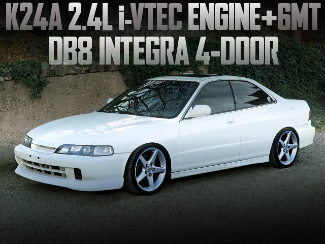 K24A iVTEC ENGINE 6MT DB8 INTEGRA