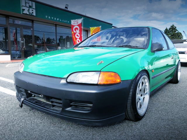 FRONT FACE EG6 CIVIC SiR2 GREEN