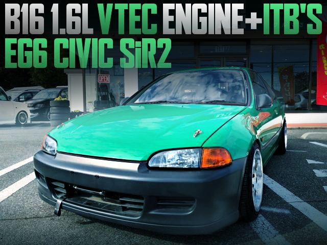 4-THROTTLE ON B16 VTEC EG6 CIVIC SiR2