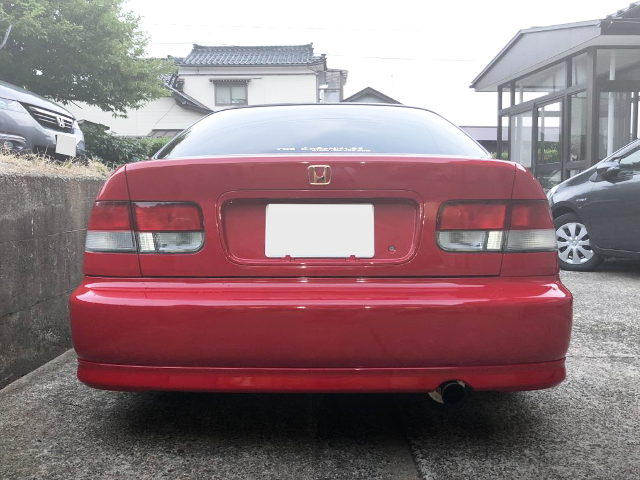 REAR TAIL LIGHT EJ7 CIVIC COUPE