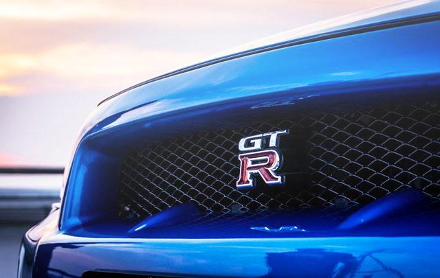 FRONT GRILLE GT-R EMBLEM