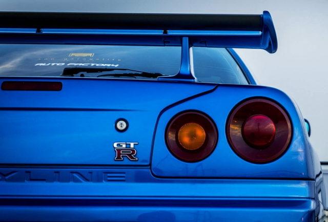 REAR R34 GT-R EMBLEM