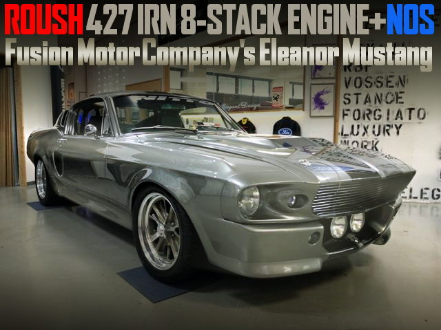 ELEANOR REPLICA FORD MUSTANG
