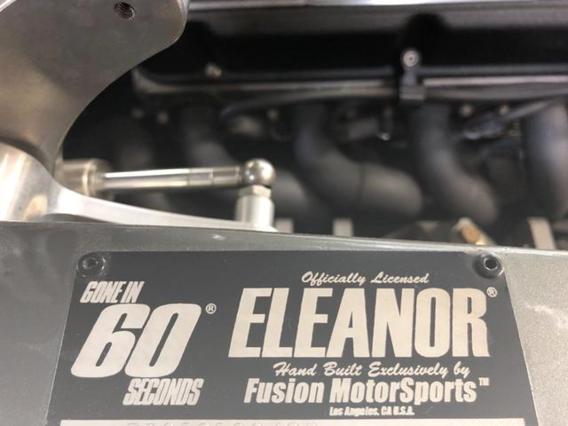 ELEANOR LICENCE PLATE