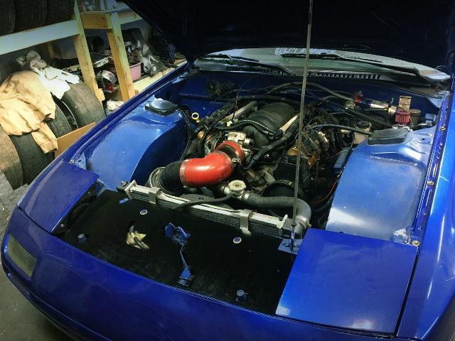 LS 5300cc V8 ENGINE INTO RX7