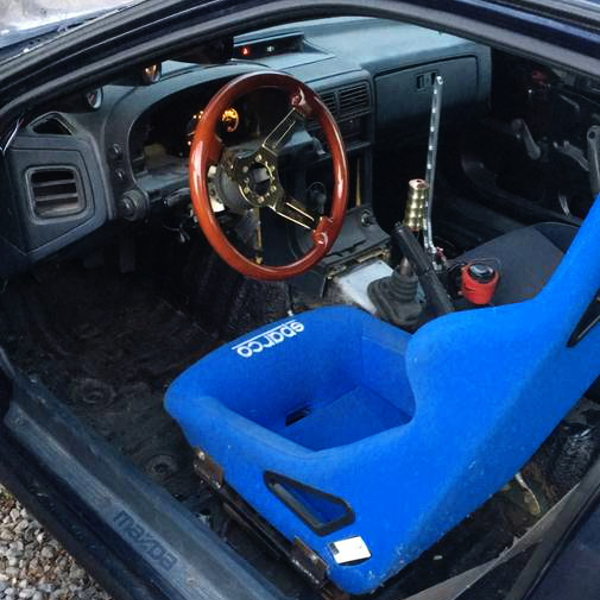 LEFT HAND DRIVE FC3S RX7