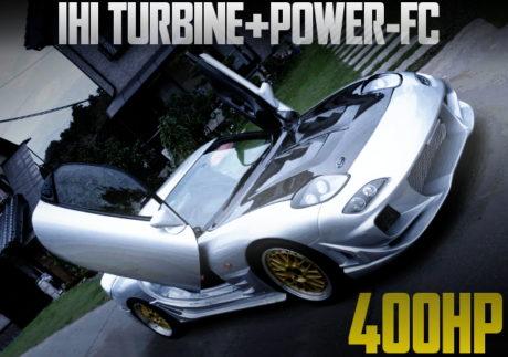 IHI TURBO 400HP FD3S RX-7 SILVER