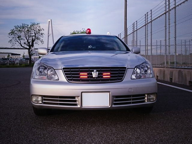 FRONT GRILL PATROL LAMP