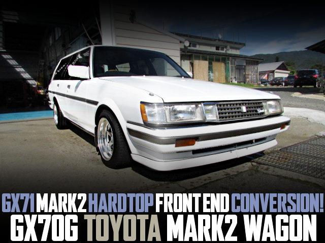 GX71 MARK2 HT FRONT END GX70G MARK2 WAGON