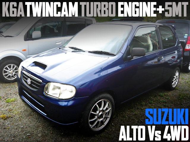 K6A TWINCAM TURBO HA23V ALTO 4WD