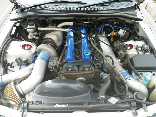 2JZ-GTE ENGINE WITH SINGLE TURBO