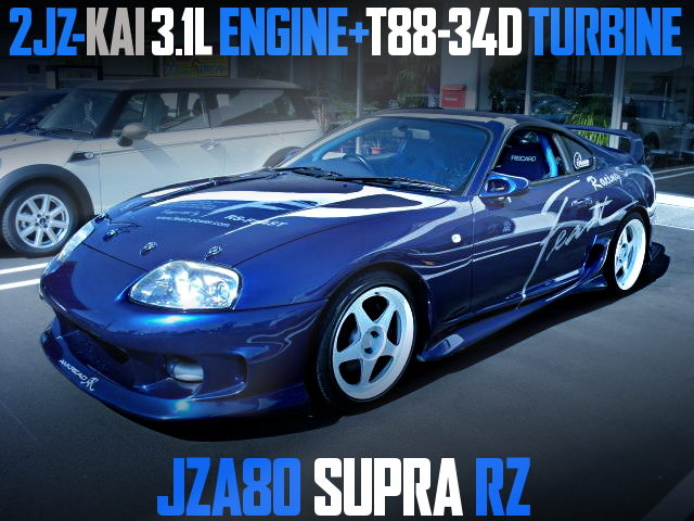 2JZ 3100cc with T88-34D TURBO 80 SUPRA